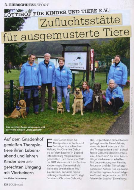 """""""Zufluchtstätte für ausgemusterter Tiere"""""""