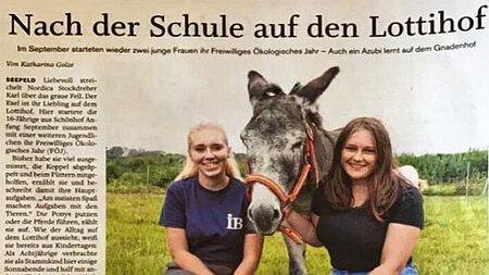 Gadebusch-Rhenaer Zeitung | Nach der Schule auf den Lottihof
