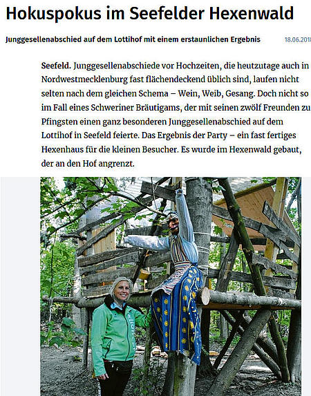 Hokuspokus im Seefelder Hexenwald