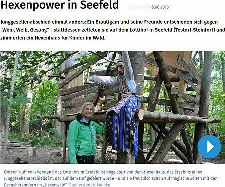 Hexenpower in Seefeld