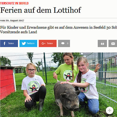 """Ferien auf dem aktion tier Lottihof"""