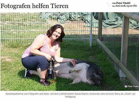 Fotografen helfen Tieren