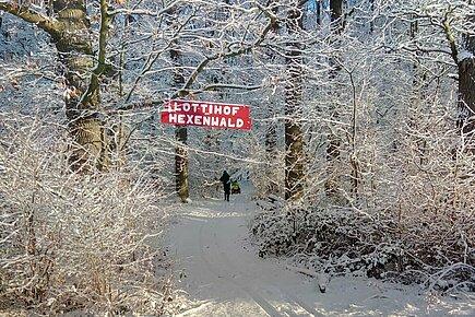 Winterstimmung auf dem Lottihof